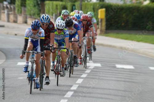 Foto op Canvas Fietsen course cyclisme