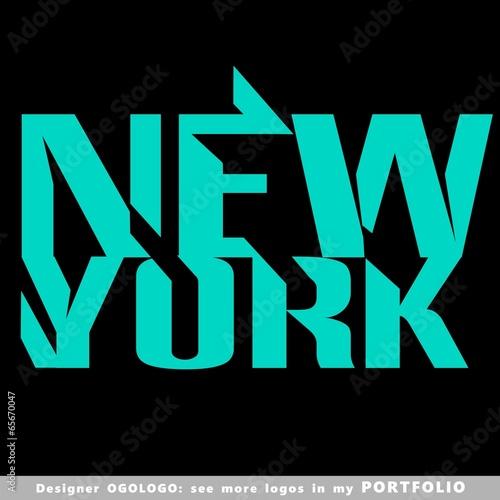 new york, logo, vector, city, statue, usa, new, york, symbol - 65670047
