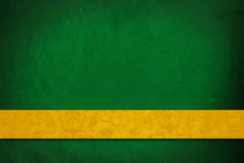Green Background With Yellow Stripe.