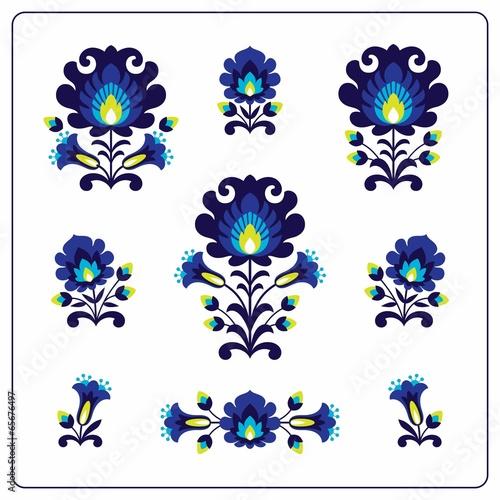 Fotografija  Polish folk pattern