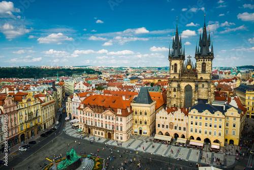 Staande foto Praag view on the Prague