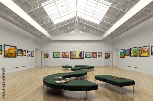 Obraz na plátně Public galery
