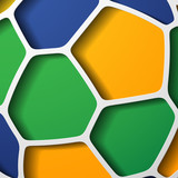 abstract background: Brasil 2014