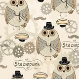 steampunk owl