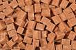 Brown refined sugar