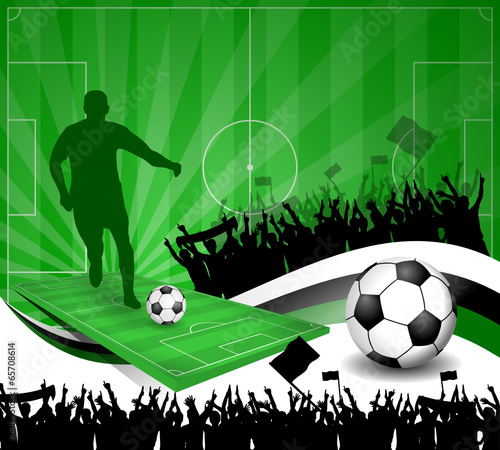 Fussball Plakat Viii Buy This Stock Vector And Explore