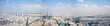 Panorama of city Paris