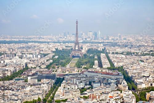 Staande foto Parijs Panorama of city Paris