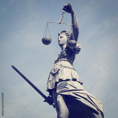 Fotografie, Obraz  Lady Justice