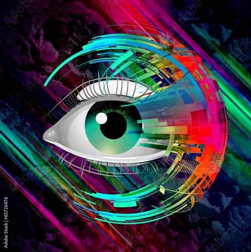 oko-graffiti-abstrakcja