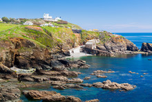 Lizard Point Cornwall England UK