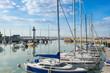 Leinwandbild Motiv Lighthouse in Quiberon