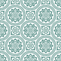 Fototapetaseamlessly vintage pattern
