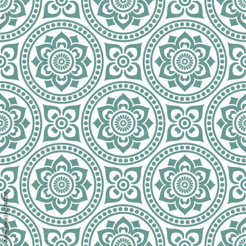 Tapeta ścienna na wymiar seamlessly vintage pattern