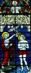 Panel Szklany Do kościoła Baptism of Jesus