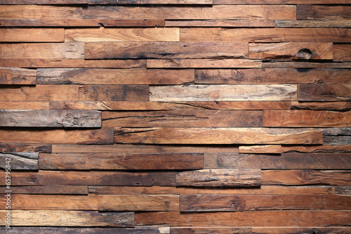 Obraz timber wood wall texture background - fototapety do salonu