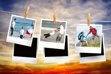 Composite Image Of Instant Pho...