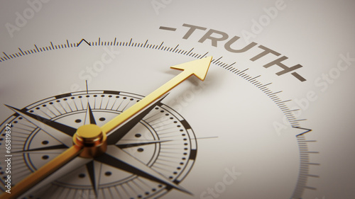Truth Concept Wallpaper Mural