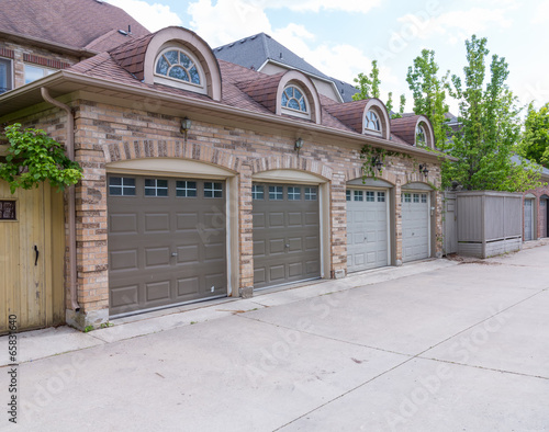 Fotografie, Obraz Garage Doors