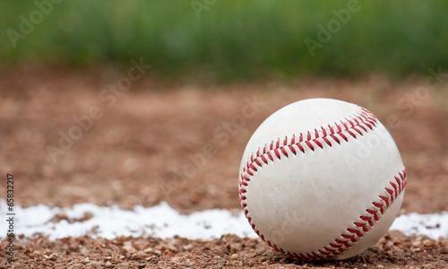 Photo Close-up of a baseball