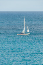 Sailing Sloop In The Caribbean...