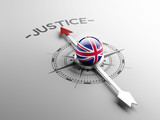 United Kingdom Justice Concept.