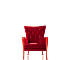 Red Chair Isolated