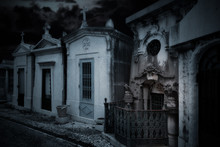 Spooky Old Cemetery