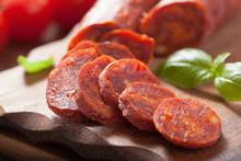 Spanish Chorizo Sausage With B...