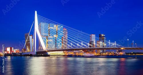 Staande foto Rotterdam Rotterdam Skyline, The Netherlands