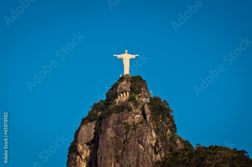 Christ the Redeemer Statue on the Corcovado Mountain Poster