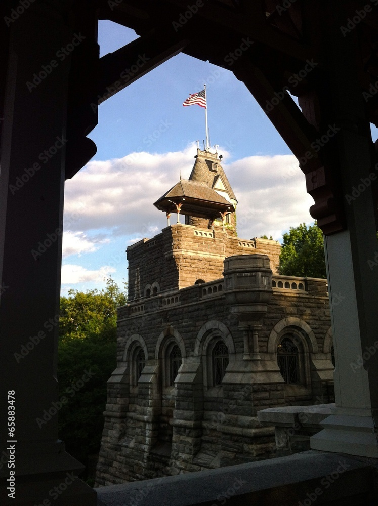 Cuadros en Lienzo Belvedere Castle, Central Park, New York