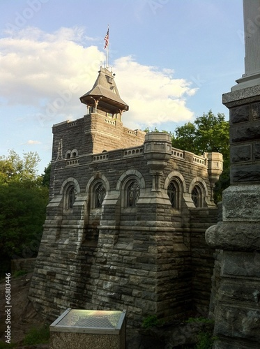 Belvedere Castle, Central Park, New York City Canvas Print