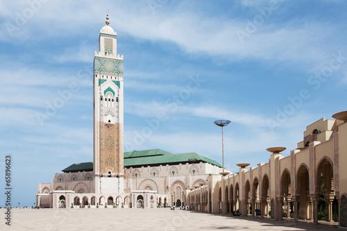Poster Marokko HassanII