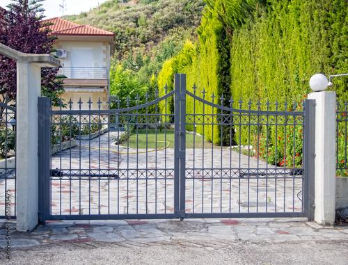 Fotografie, Obraz  Metal Gate