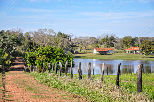 Foto  Flooded farm, Mato Grosso do Sul (Brazil)