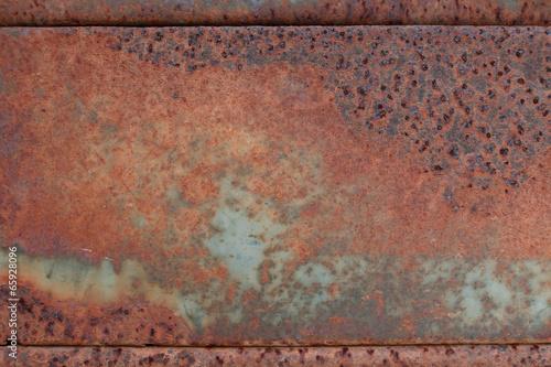 Türaufkleber Metall grunge background metal rust plate