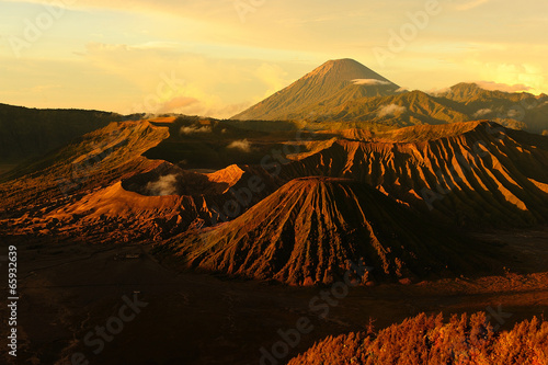 Volcano of Mount Bromo, Indonesia