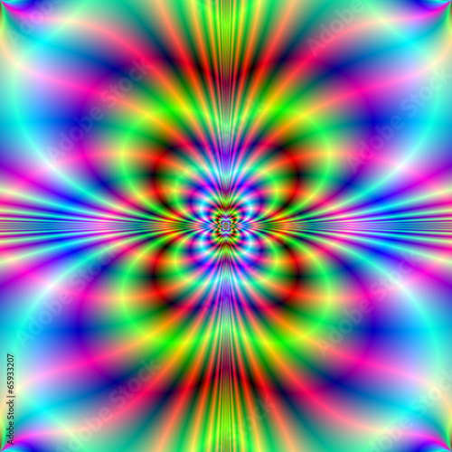 Poster Psychedelic Neon Lights