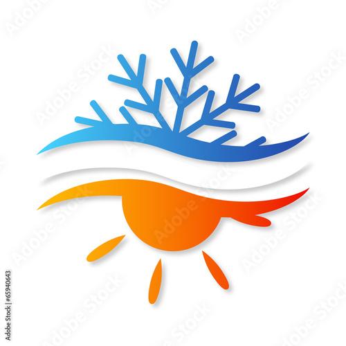 Fotografie, Obraz  air conditioner design for vector