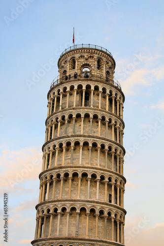 Fotografie, Obraz  Der Schiefe Turm von Pisa