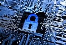 Security Lock Symbol On Comput...