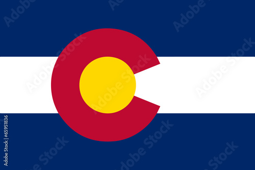 Photo  Colorado State Flag