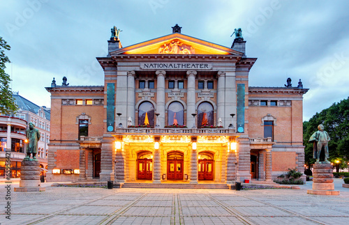 National Theatre in Oslo - Nationaltheatret