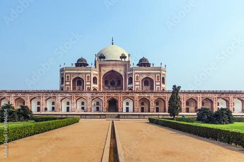 Tuinposter Delhi Humayun's Tomb in Delhi