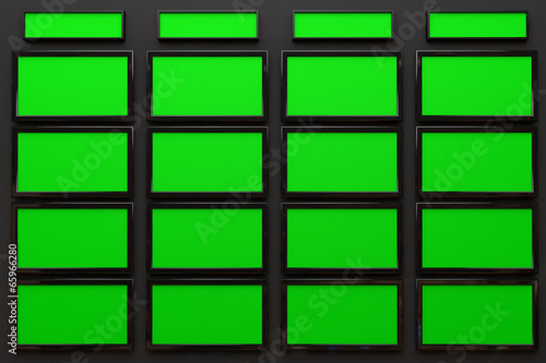 Broadcast Studio Interior With Greenscreen High Tech Videowall Buy This Stock Illustration And Explore Similar Illustrations At Adobe Stock Adobe Stock