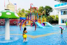 Small Water Park Playground.