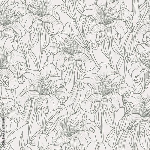 szkicowane-lilie