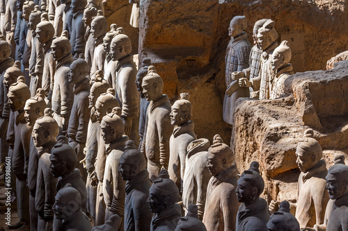 Papiers peints Xian The Terracotta Army or the