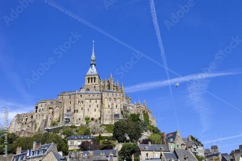 Spoed Foto op Canvas Bedehuis mont saint michel